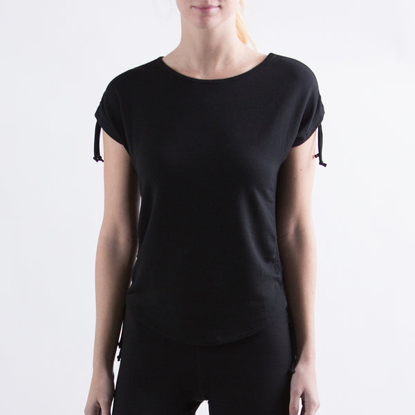 Women's The Perfect Adjustable Tee Black