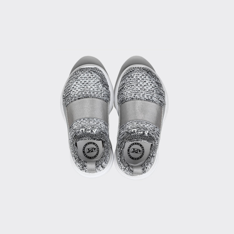 Kid's TechLoom Bliss Heather Grey / White