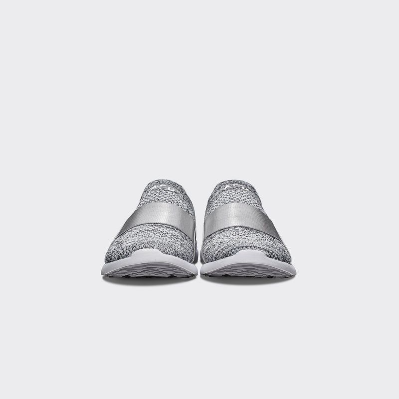 Youth's TechLoom Bliss Heather Grey / White
