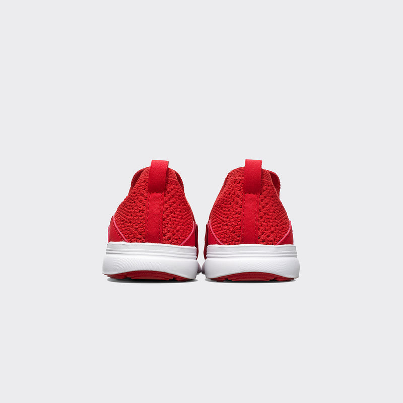 Youth's TechLoom Bliss Red / White