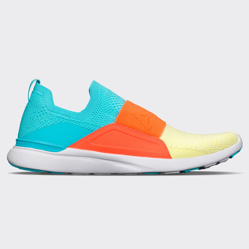 Women's TechLoom Bliss Bahama Blue / Laser Red / Citrus