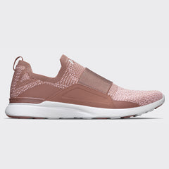 Women's TechLoom Bliss Beachwood / Dusty Rose / White