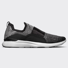 Women's TechLoom Bliss Black / Metallic Silver / White