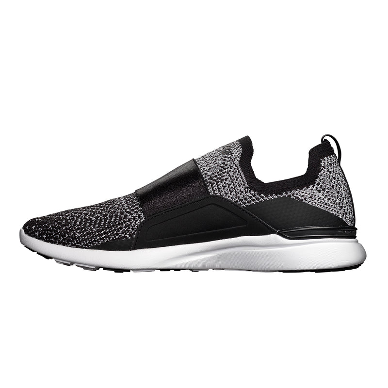 Men's TechLoom Bliss Black / Metallic Silver / White