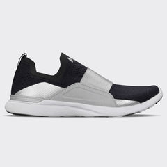 Men's TechLoom Bliss Black / Reflective Silver / White