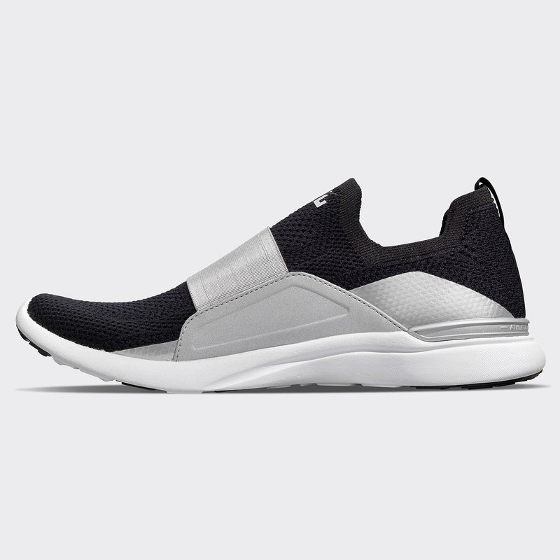 Women's TechLoom Bliss Black /  Reflective Silver / White