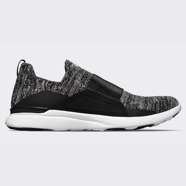 Men's TechLoom Bliss Black / White / Melange