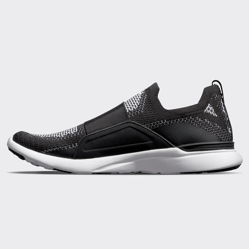 Men's TechLoom Bliss Black / White / White