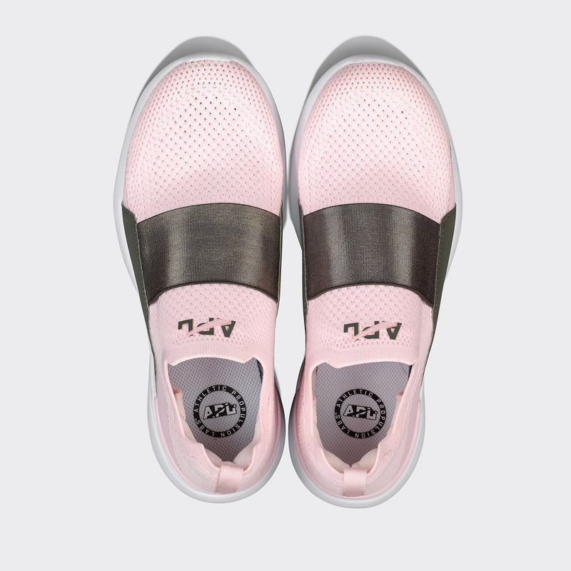 Women's TechLoom Bliss Bleached Pink / Fatigue / White