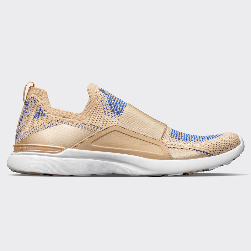 Women's TechLoom Bliss Champagne / Cobalt / White