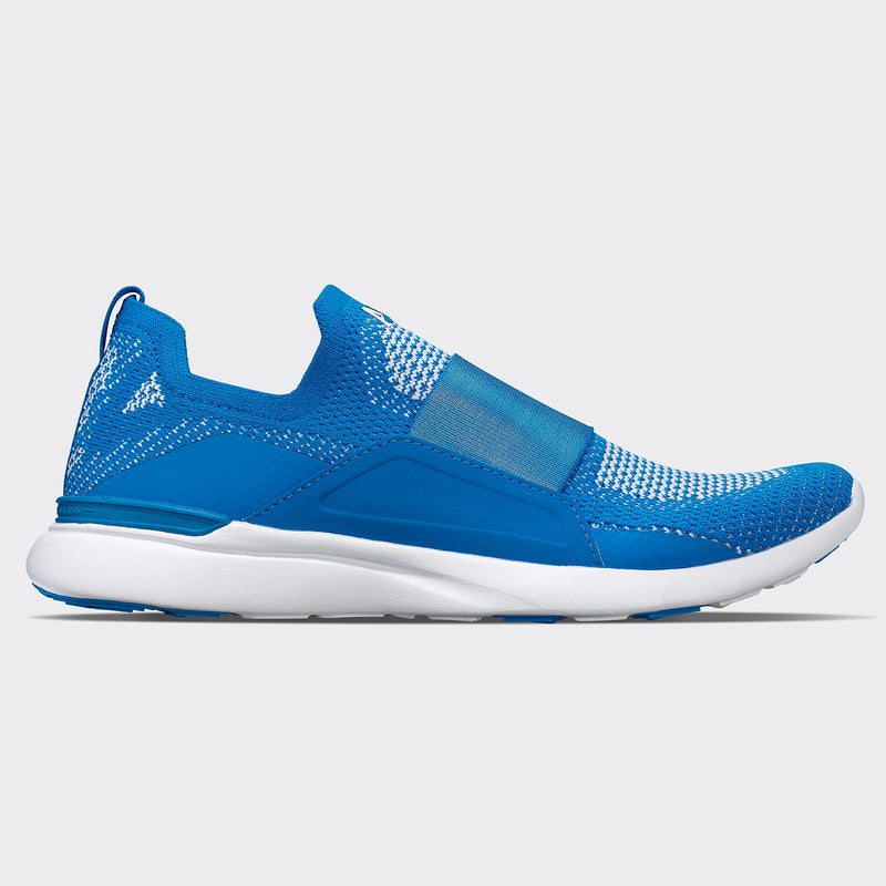Men's TechLoom Bliss Electric Blue / White