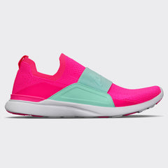 Women's TechLoom Bliss Fusion Pink / Bright Mint / White