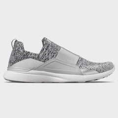 Women's TechLoom Bliss Heather Grey / Metallic Silver / Ombre
