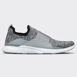 Men's TechLoom Bliss Heather Grey / White