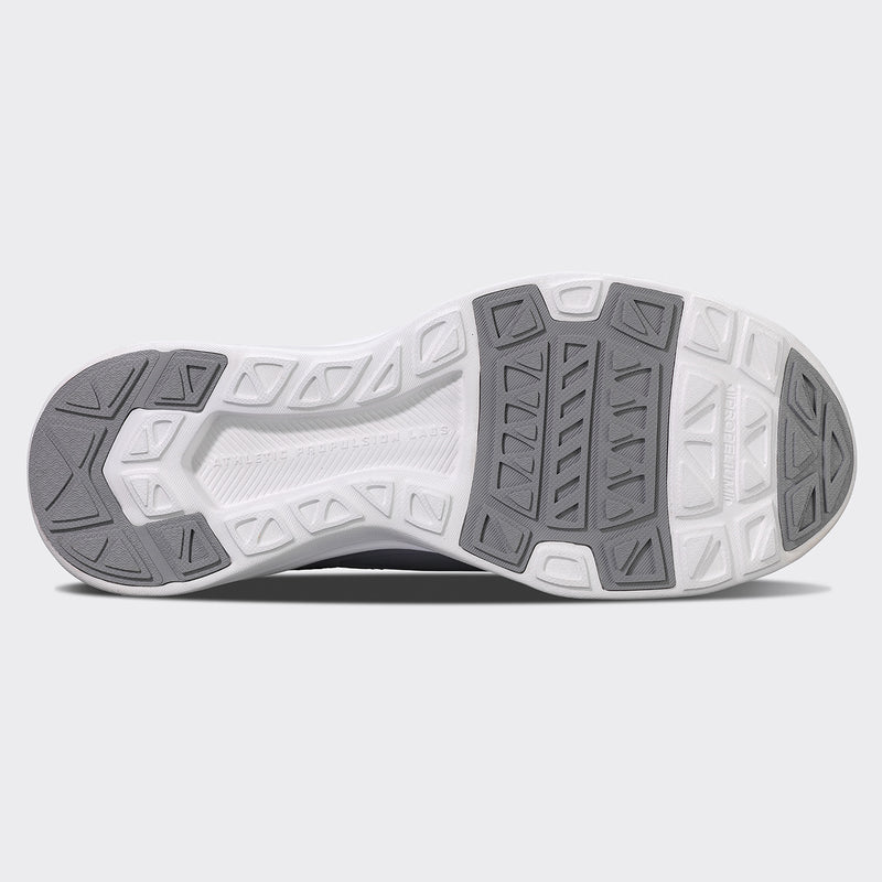 Men's TechLoom Bliss Heather Grey / White / White