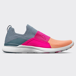 Women's TechLoom Bliss Moonstone / Neon Pink / Neon Peach