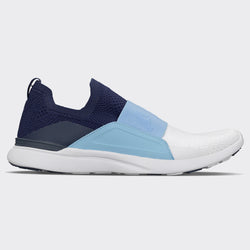 Men's TechLoom Bliss Navy / Carolina Blue / White