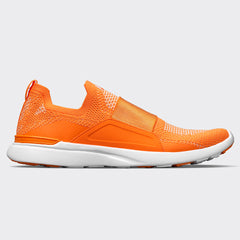 Women's TechLoom Bliss Orange / Metallic Pearl / White