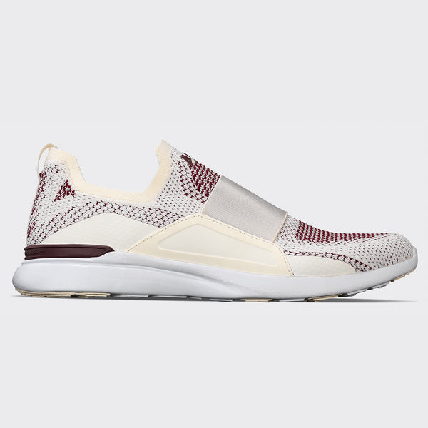 Women's TechLoom Bliss Pristine / Burgundy / White
