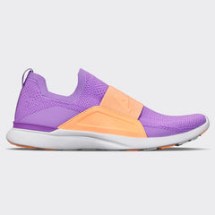 Women's TechLoom Bliss Sea Urchin / Neon Peach / White