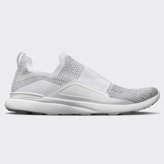 Women's TechLoom Bliss White / Metallic Silver / Ombre