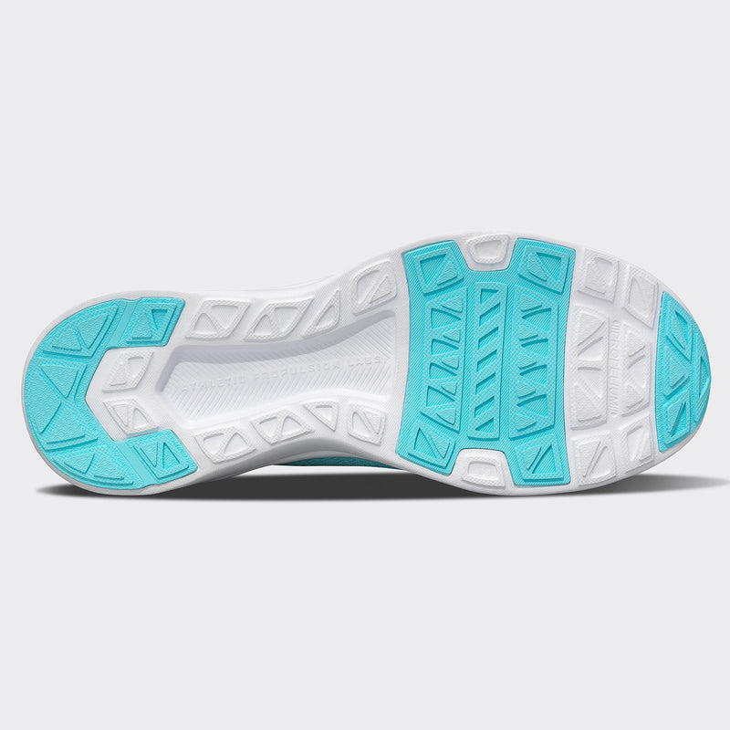 Women's TechLoom Breeze Bahama Blue / Metallic Silver / White