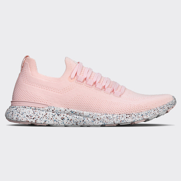 Women's TechLoom Breeze Bleached Pink / Grey Denim / Burgundy