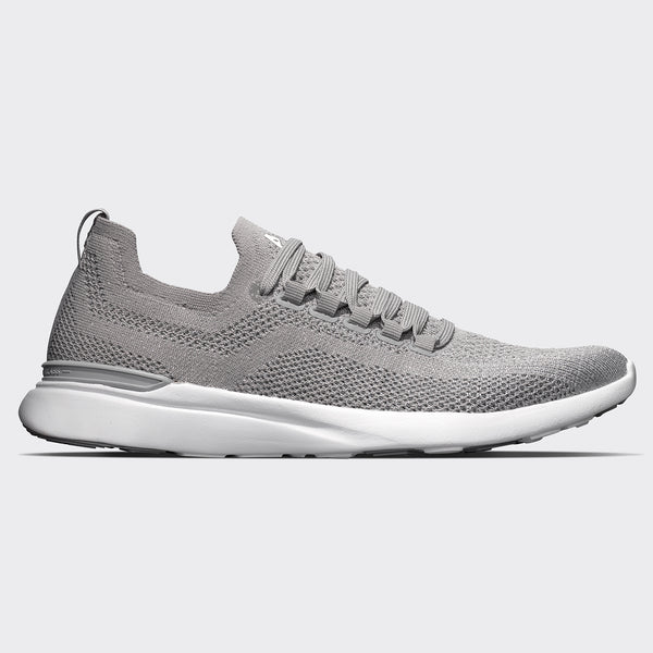 Men's TechLoom Breeze Cement / Metallic Silver / White