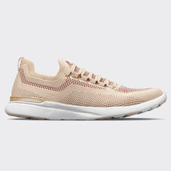 Women's TechLoom Breeze Champagne / Burgundy / White