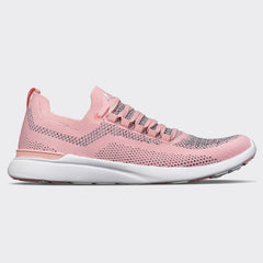 Women's TechLoom Breeze Cupcake / Heather Grey / White