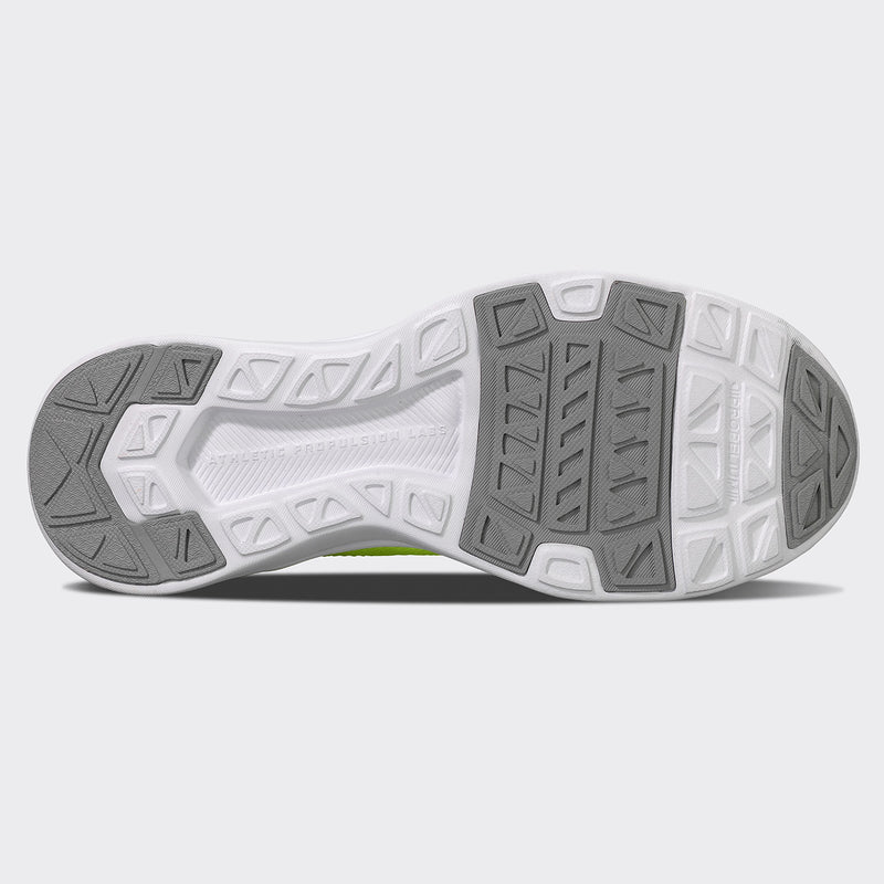 Men's TechLoom Breeze Energy / Metallic Silver / White
