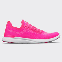 Women's TechLoom Breeze Fusion Pink / White / White
