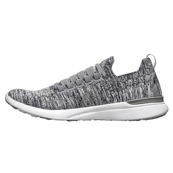 Men's TechLoom Breeze Heather Grey / Pristine / White