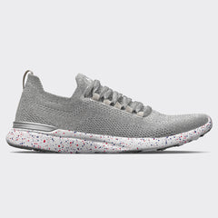Women's TechLoom Breeze Metallic Silver / Ruby / Blue Haze