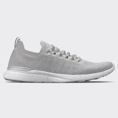Women's TechLoom Breeze Metallic Silver / White / Speckle