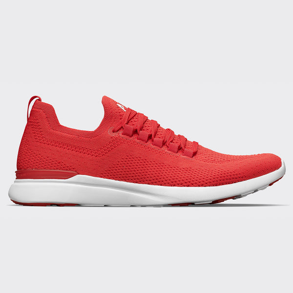 Women's TechLoom Breeze Red / White