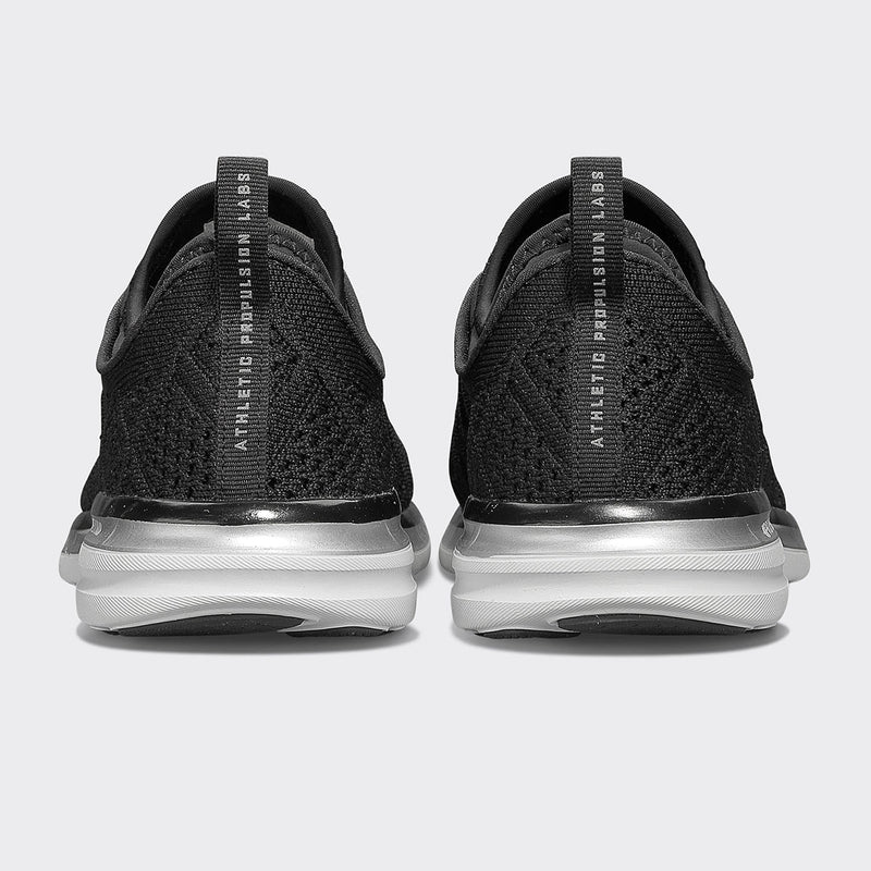 Men's TechLoom Phantom Black / Metallic Silver