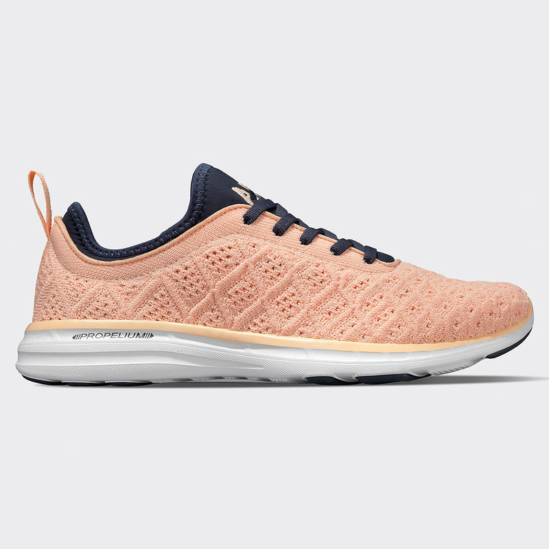 Women's TechLoom Phantom Faded Peach / Midnight / White