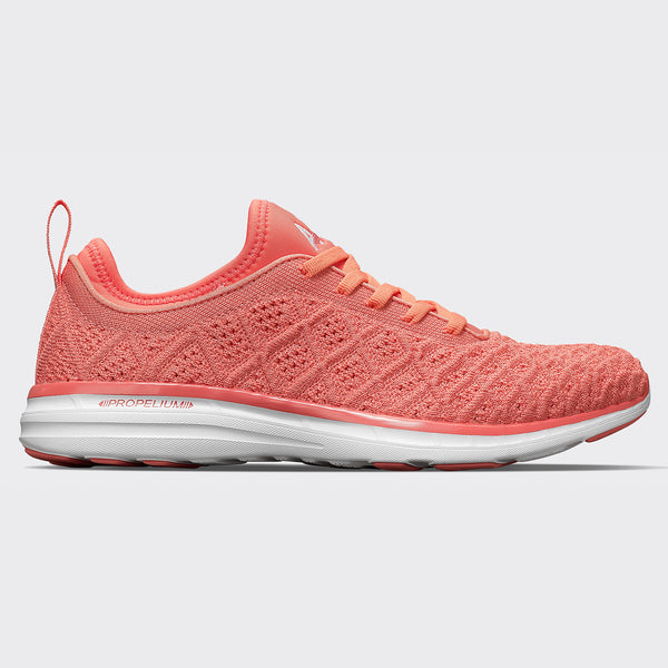 Women's TechLoom Phantom Fire Coral / White