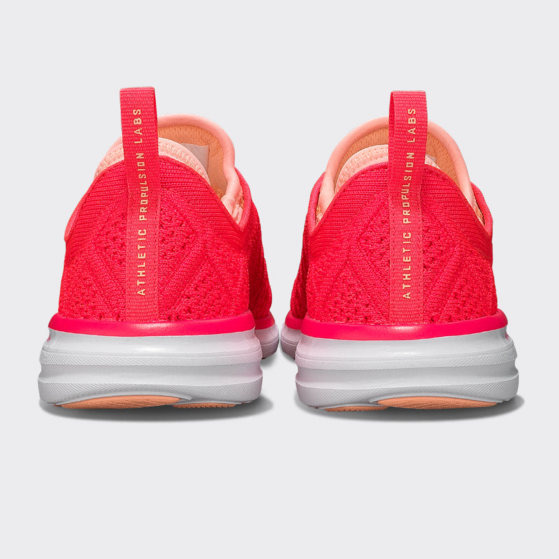Women's Techloom Phantom Magenta / Neon Peach / White