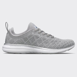 Women's TechLoom Phantom Metallic Silver / Grey Glow / White