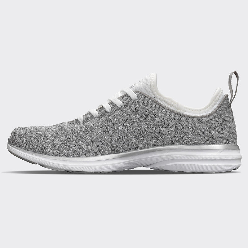 Men's TechLoom Phantom Metallic Silver / White