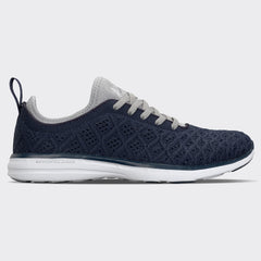 Men's TechLoom Phantom Midnight / Metallic Silver / White