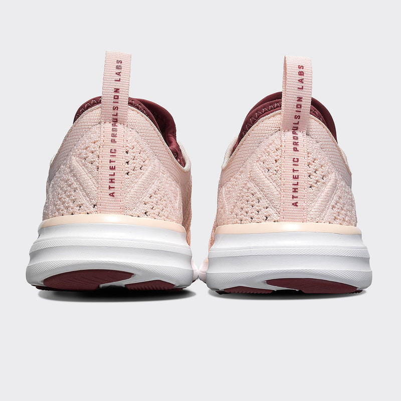 Women's TechLoom Phantom Nude / Burgundy / White