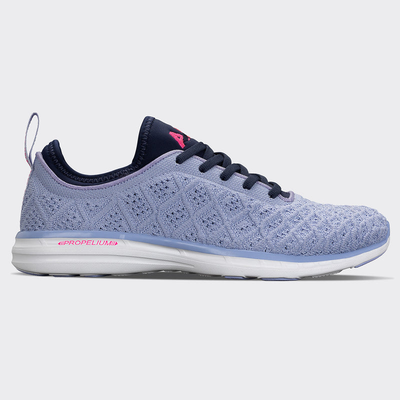 Women's TechLoom Phantom Periwinkle / Fusion Pink / White