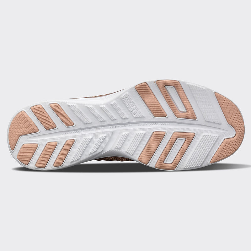 Women's TechLoom Phantom Rose Gold / Fusion Pink / White
