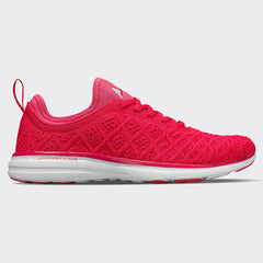 Men's TechLoom Phantom Ruby / White