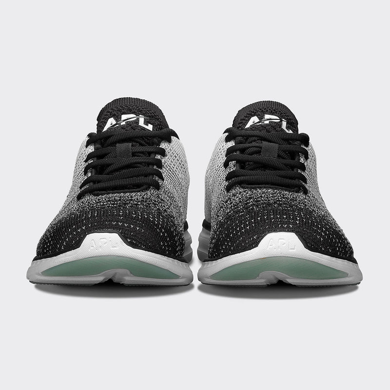Women's TechLoom Pro Black / Heather Grey / White