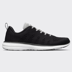 Women's TechLoom Pro Black / Metallic Silver / White