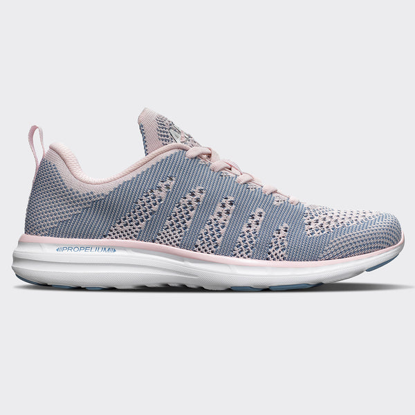 Women's TechLoom Pro Bleached Pink  /  Grey Denim  /  White